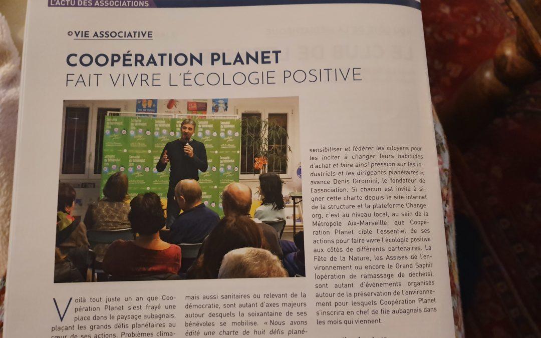 Cooperation Planet fait vivre l'écologie positive