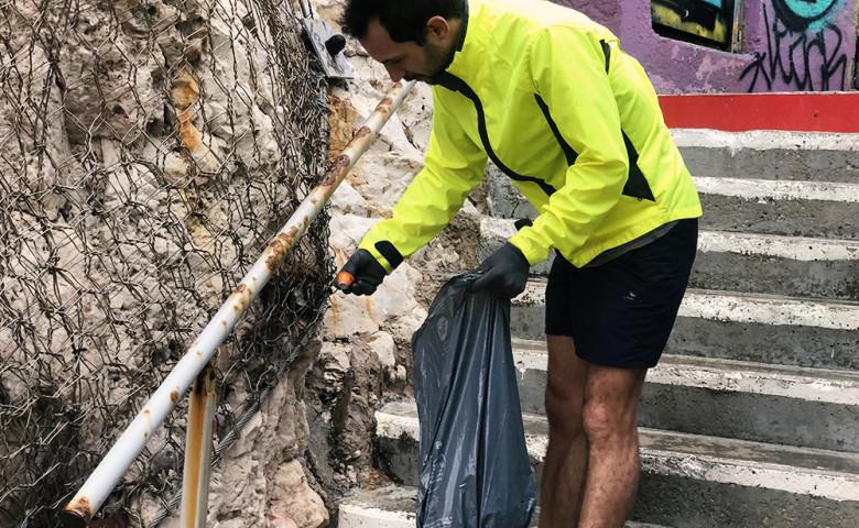 Nettoie ton km, le défi écolo de Benjamin de Molliens